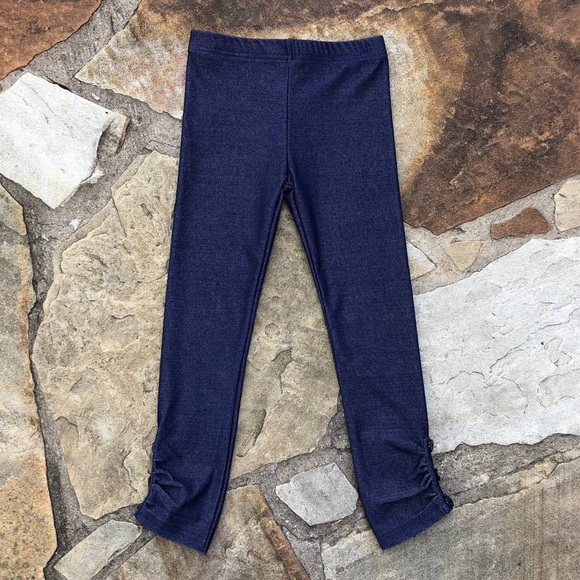 Southern Style Boutique Other - Southern Style Dark Denim Sprinkle Leggings Sz 12